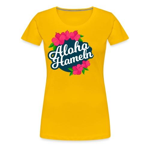 Aloha Hameln | Hawaii SunShine | - Frauen Premium T-Shirt