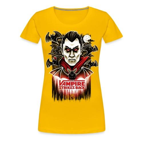 The Vampire Strikes Back - Women's Premium T-Shirt