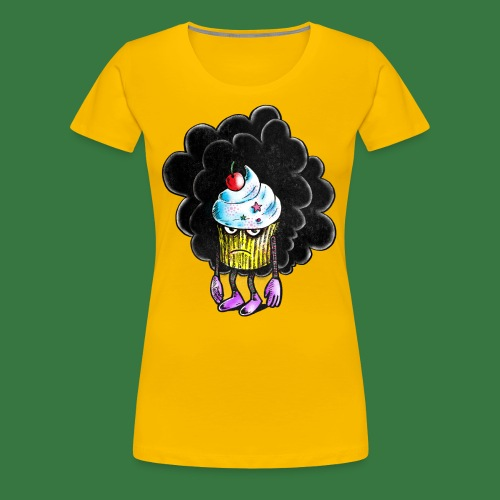 Don´t call me cupcake - Premium-T-shirt dam