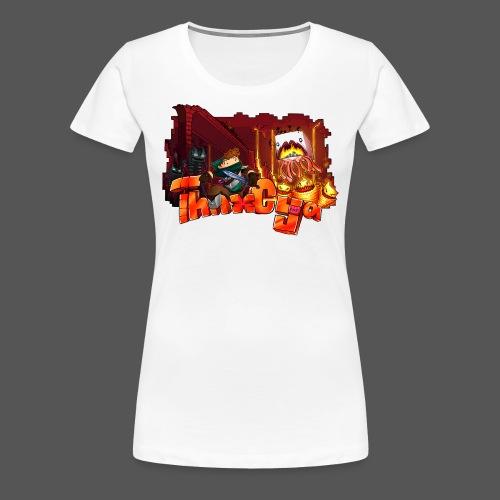 ThnxCya tshirt nether design by Jonas Nacef png - Women's Premium T-Shirt