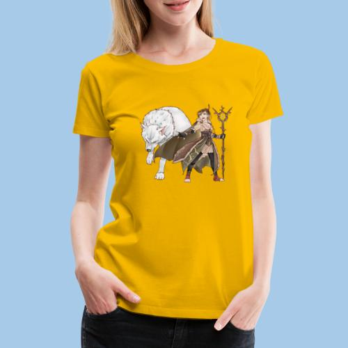 Zabi - Guardian of Nature - Women's Premium T-Shirt