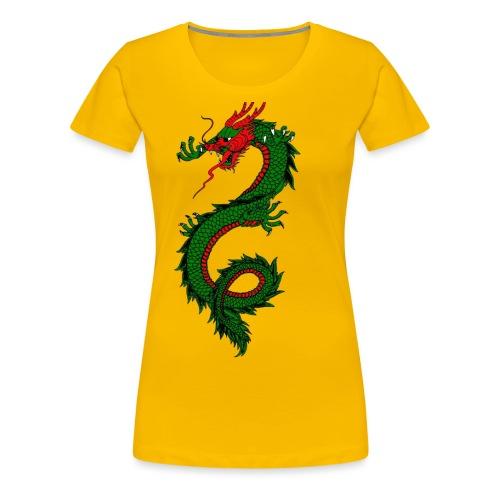 dragon - Maglietta Premium da donna