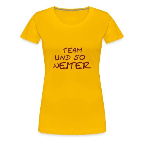 tusw merch png - Frauen Premium T-Shirt
