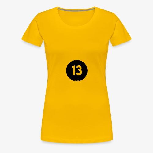 Thirteen Logo - Vrouwen Premium T-shirt
