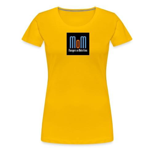 Managers on Motorbikes Logo - Frauen Premium T-Shirt