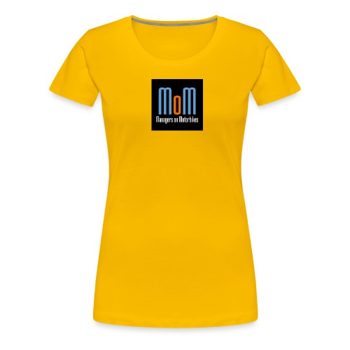 Managers on Motorbikes Logo - Frauen Premium T-Shirt