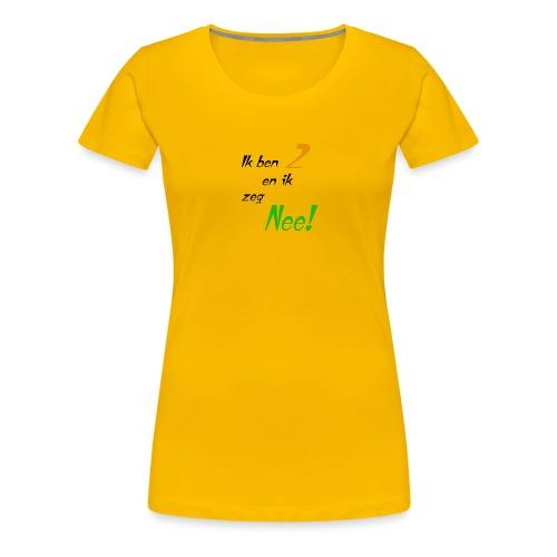 Ik ben 2! - Vrouwen Premium T-shirt