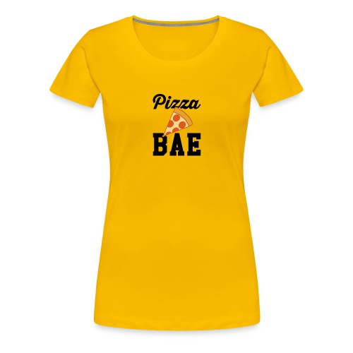 Pizza bæ - Women's Premium T-Shirt