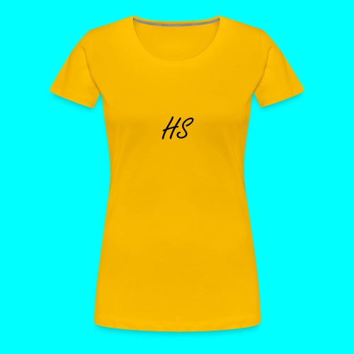 HS Hoodie, Navy Blue - Women's Premium T-Shirt