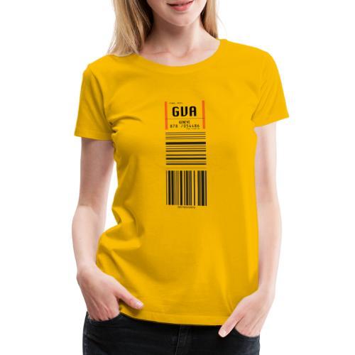 Flughafen Genève - Geneva - Genf - GVA - Frauen Premium T-Shirt