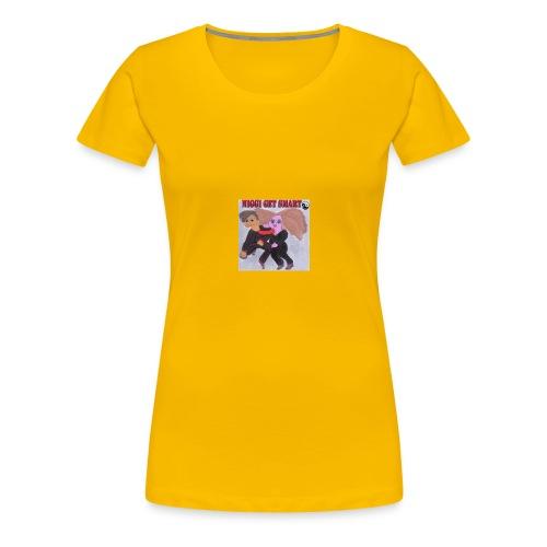 niggi get smart by superlisamcb - Frauen Premium T-Shirt