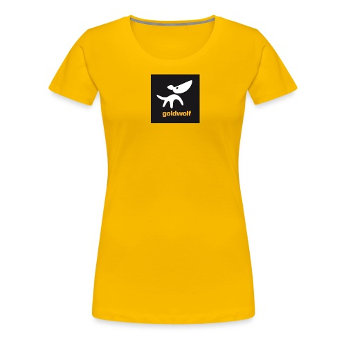 quadrat 2 grau - Frauen Premium T-Shirt
