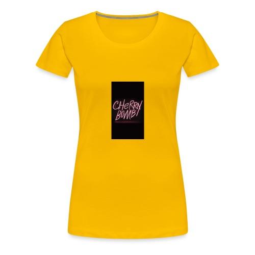 Cherry Bomb - Women's Premium T-Shirt