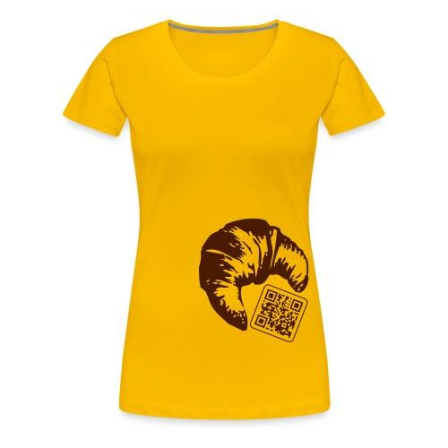 croissant - Camiseta premium mujer