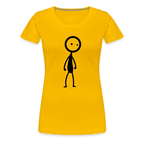 Stickyman Single - Frauen Premium T-Shirt