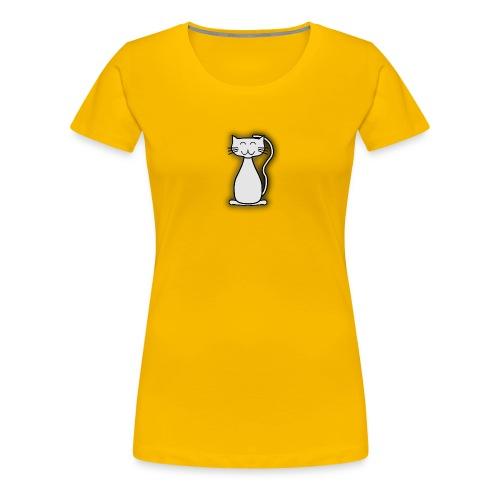 Smiling Cat - Frauen Premium T-Shirt