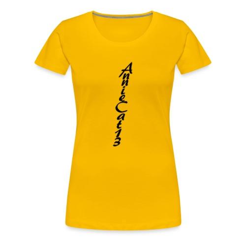 annicat upwards writing copy png - Women's Premium T-Shirt