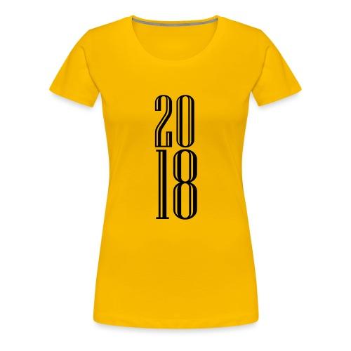 2018 - Camiseta premium mujer