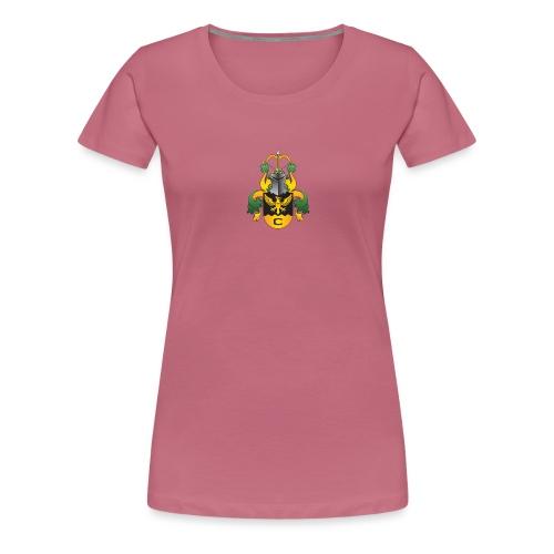 vaakuna, iso - Naisten premium t-paita