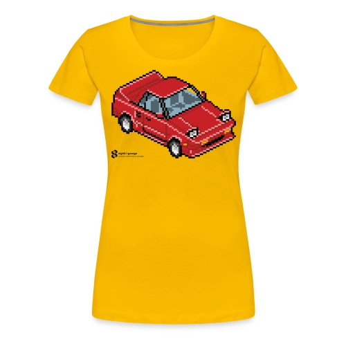 8Bit MR2 - Women's Premium T-Shirt