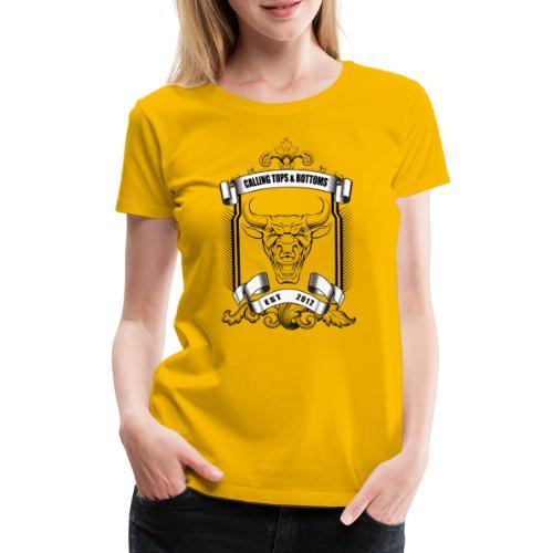 Angry Bull - Women's Premium T-Shirt