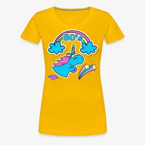 UNICORNIO FELIZ - Camiseta premium mujer