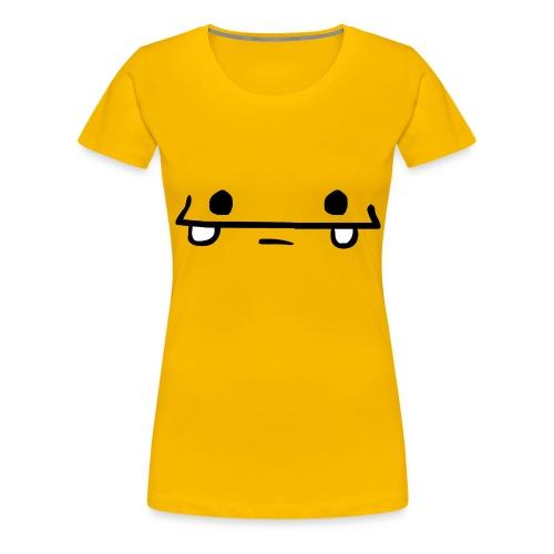 Face png - Frauen Premium T-Shirt