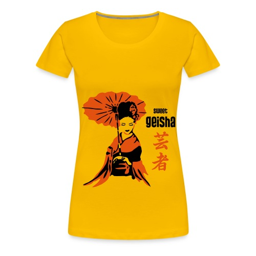 geisha2 - Frauen Premium T-Shirt