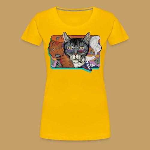 Crime Cat - Koszulka damska Premium