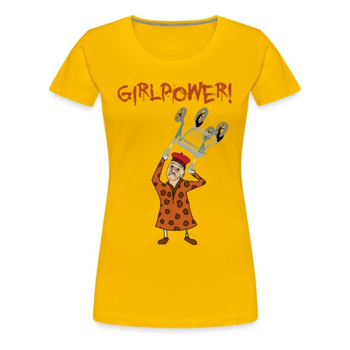 Elsa swingar rullator med text png - Premium-T-shirt dam