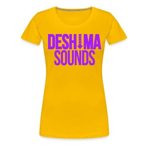 Purple - Vrouwen Premium T-shirt