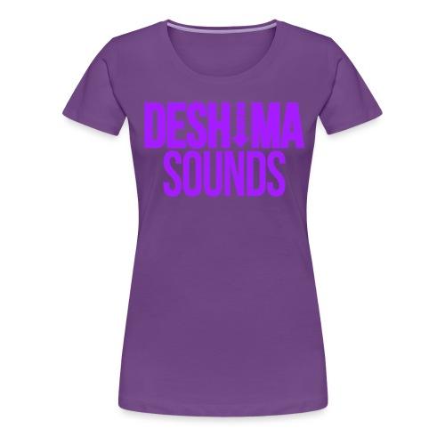 Purple - Women's Premium T-Shirt