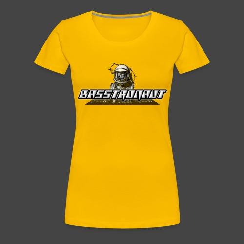 Bassphemie - Basstronaut Logo - Frauen Premium T-Shirt