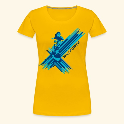 Will Power to win table Tennis Championship - Frauen Premium T-Shirt