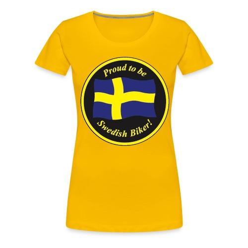 Stor proud - Premium-T-shirt dam