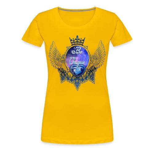 Beautiful-Lace.png - Frauen Premium T-Shirt