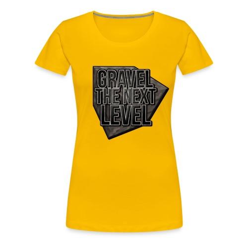 gravelthenextlevel png - Vrouwen Premium T-shirt