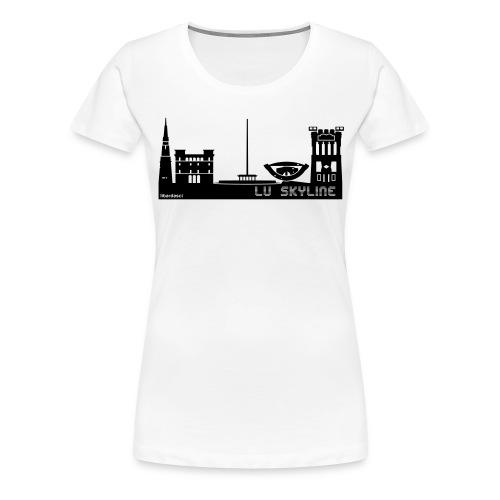 Lu skyline de Terni - Maglietta Premium da donna