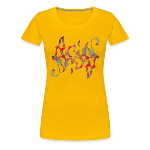Acid_Design_2 - Frauen Premium T-Shirt