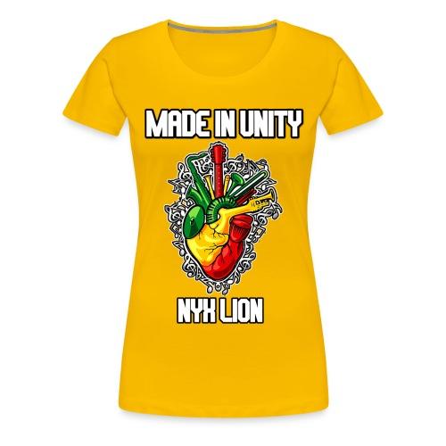 t shirt miu 2k14 nyx lion - T-shirt Premium Femme