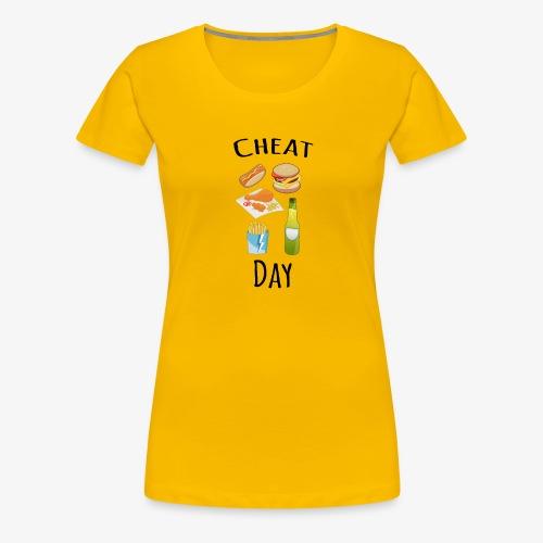 Cheat day - Women's Premium T-Shirt