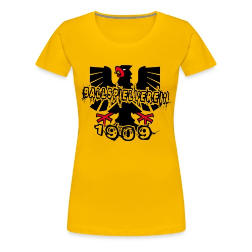 wappen1909 - Frauen Premium T-Shirt