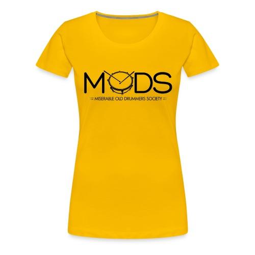 MODS BLACK GIF gif - Women's Premium T-Shirt