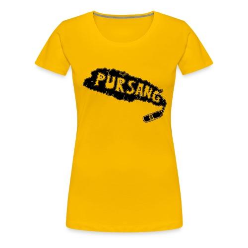 PUR SANG (Black) - Vrouwen Premium T-shirt