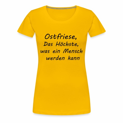 Herren - Ostfriese - Frauen Premium T-Shirt