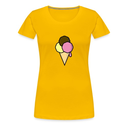 Food: Eis - Frauen Premium T-Shirt