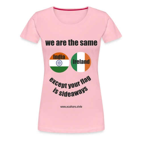 we are the same circles png - Women's Premium T-Shirt