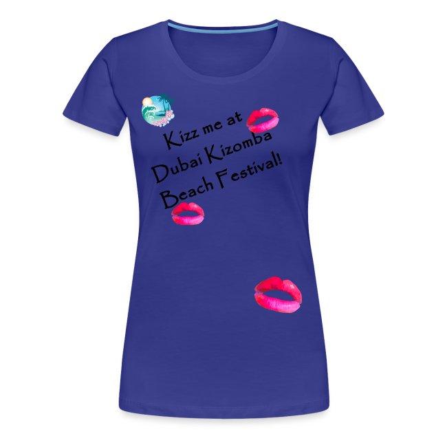 perfect lips tshirt black text