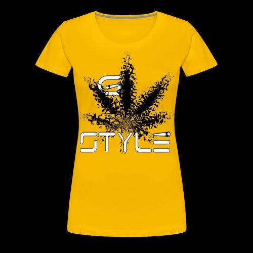 g-style 3 - Frauen Premium T-Shirt