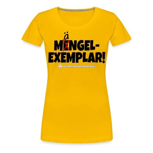Shirt Mängel png - Frauen Premium T-Shirt
